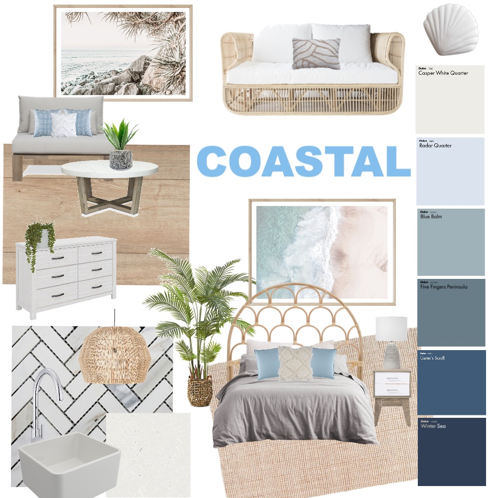 Coastal Interior Design Mood Board by AshLowe on Style Sourcebook