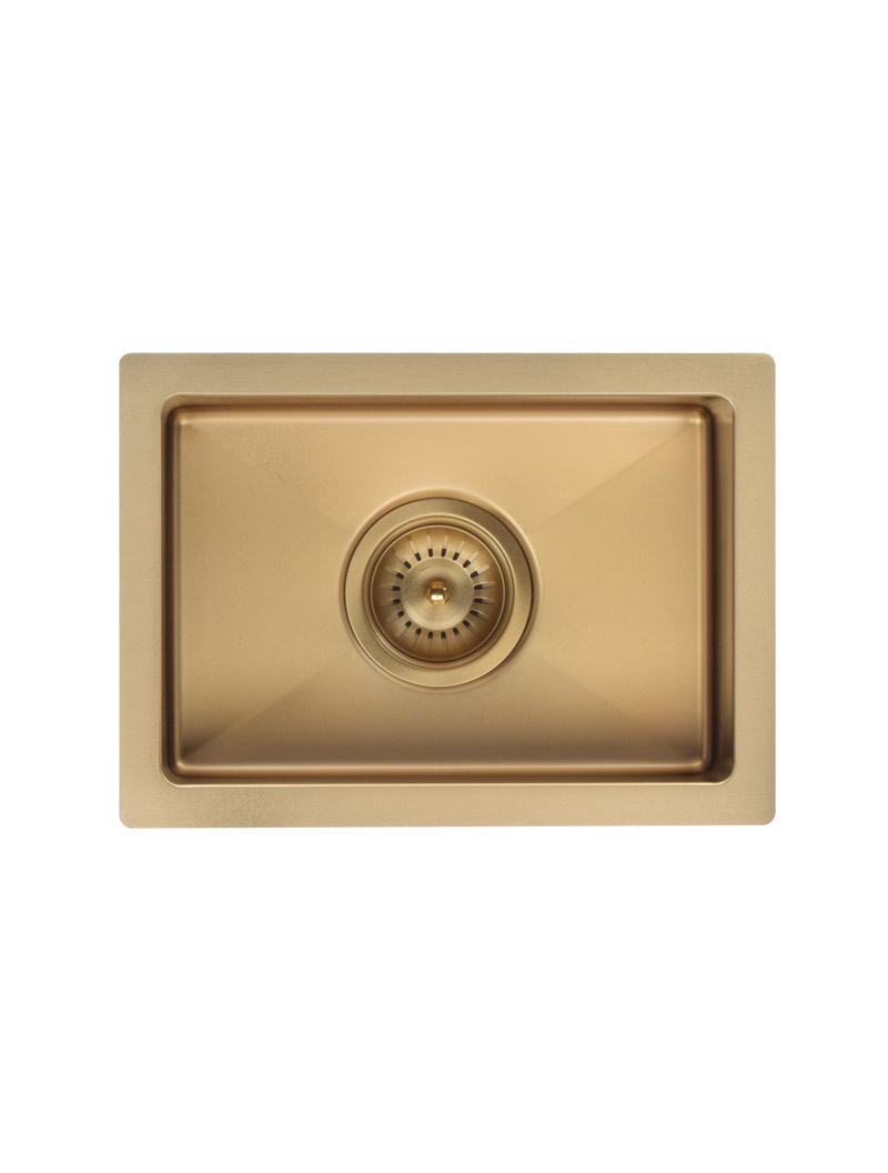 LAVELLO by MEIR | TIGER BRONZE BAR SINK - SINGLE BOWL 382 X 272 by LAVELLO by MEIR, a Kitchen Sinks for sale on Style Sourcebook