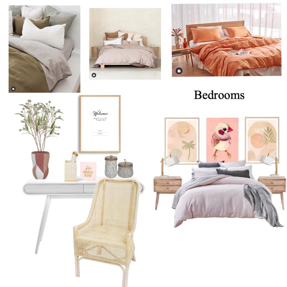 Kalangadoo BnB Bedrooms Interior Design Mood Board by Williams Way Interior Decorating on Style Sourcebook