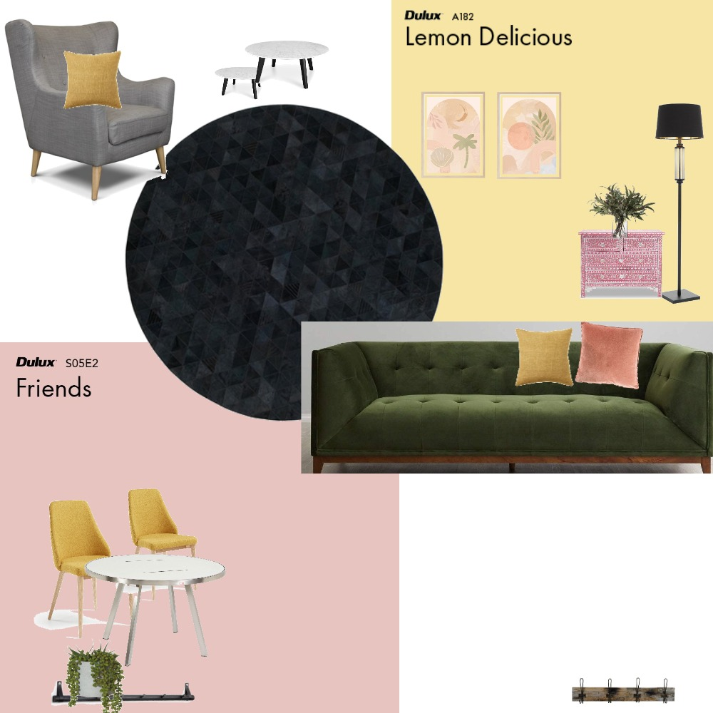 Sara's living room - look and feel Interior Design Mood Board by Rivki on Style Sourcebook