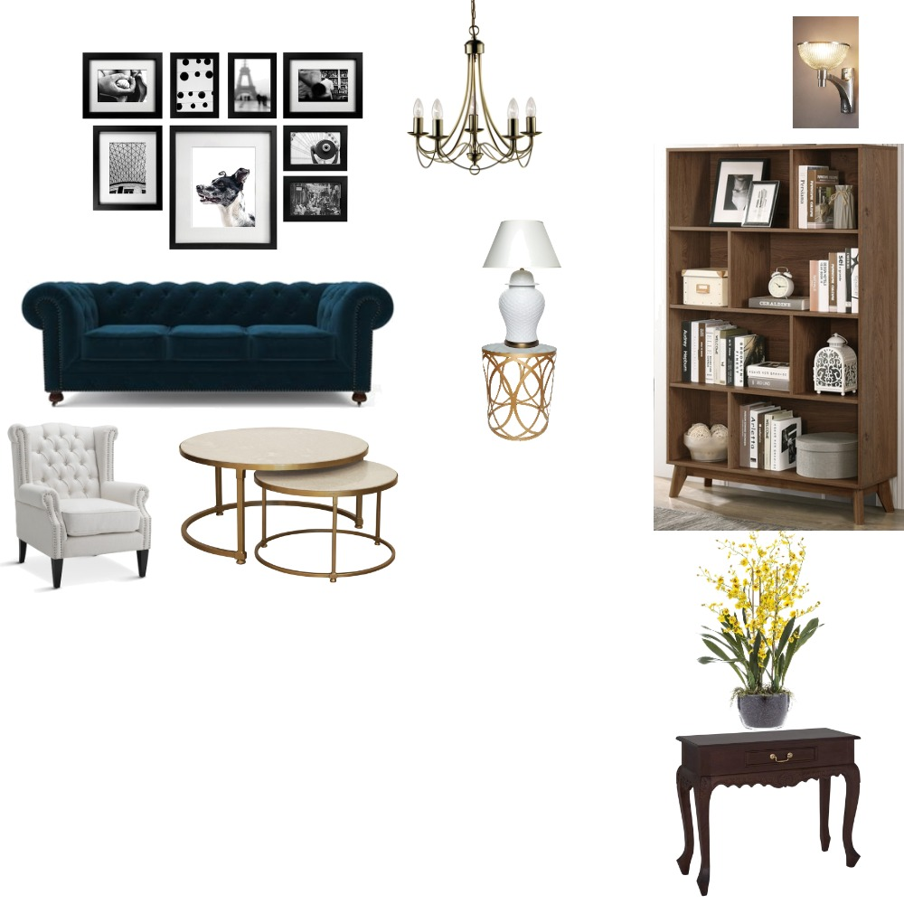 Drafting Traditonal Interior Design Mood Board by syl_namale on Style Sourcebook