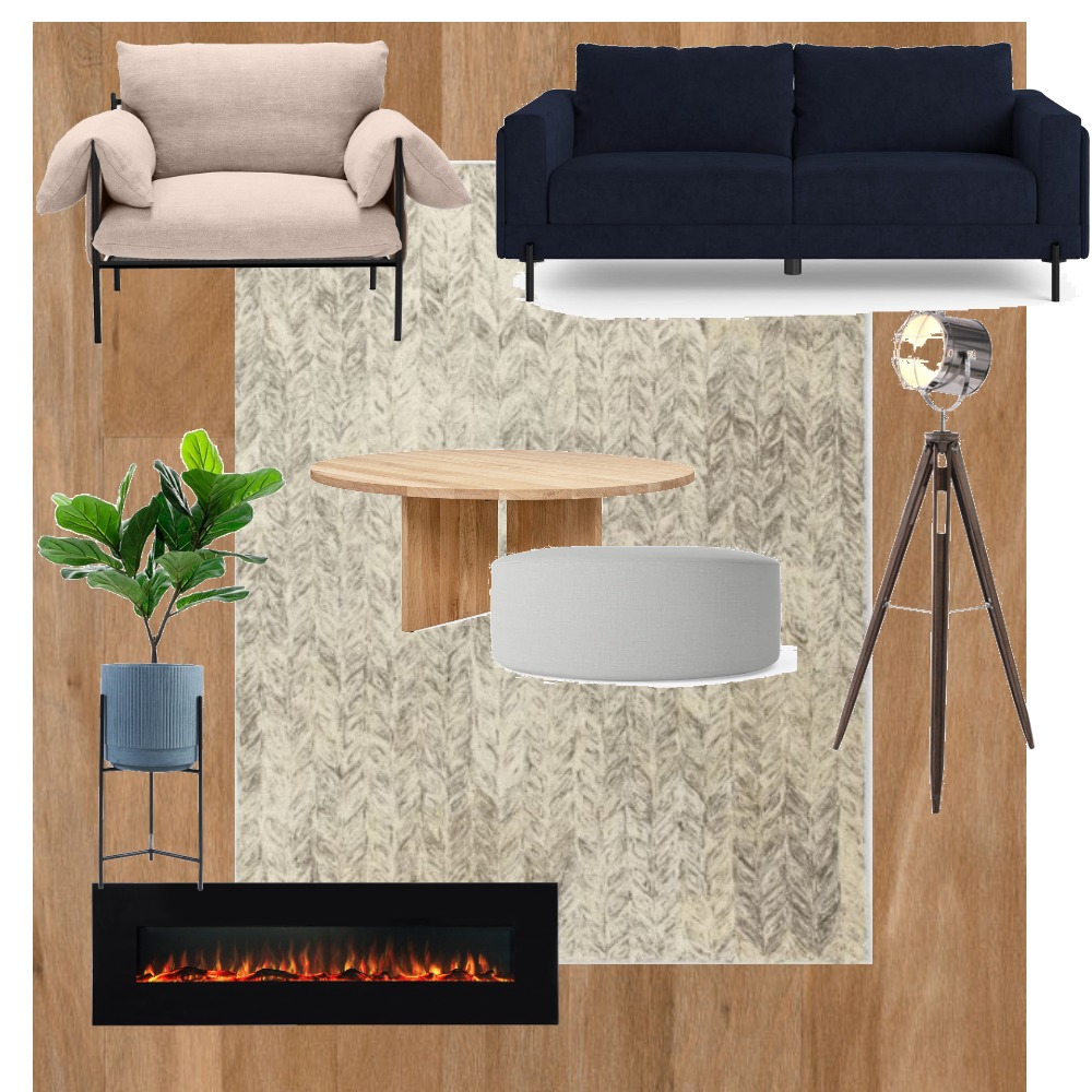 Living Room - 4 Interior Design Mood Board by Agatha on Style Sourcebook