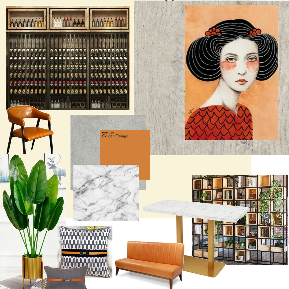 SBR Interior Design Mood Board by Jem Abate on Style Sourcebook