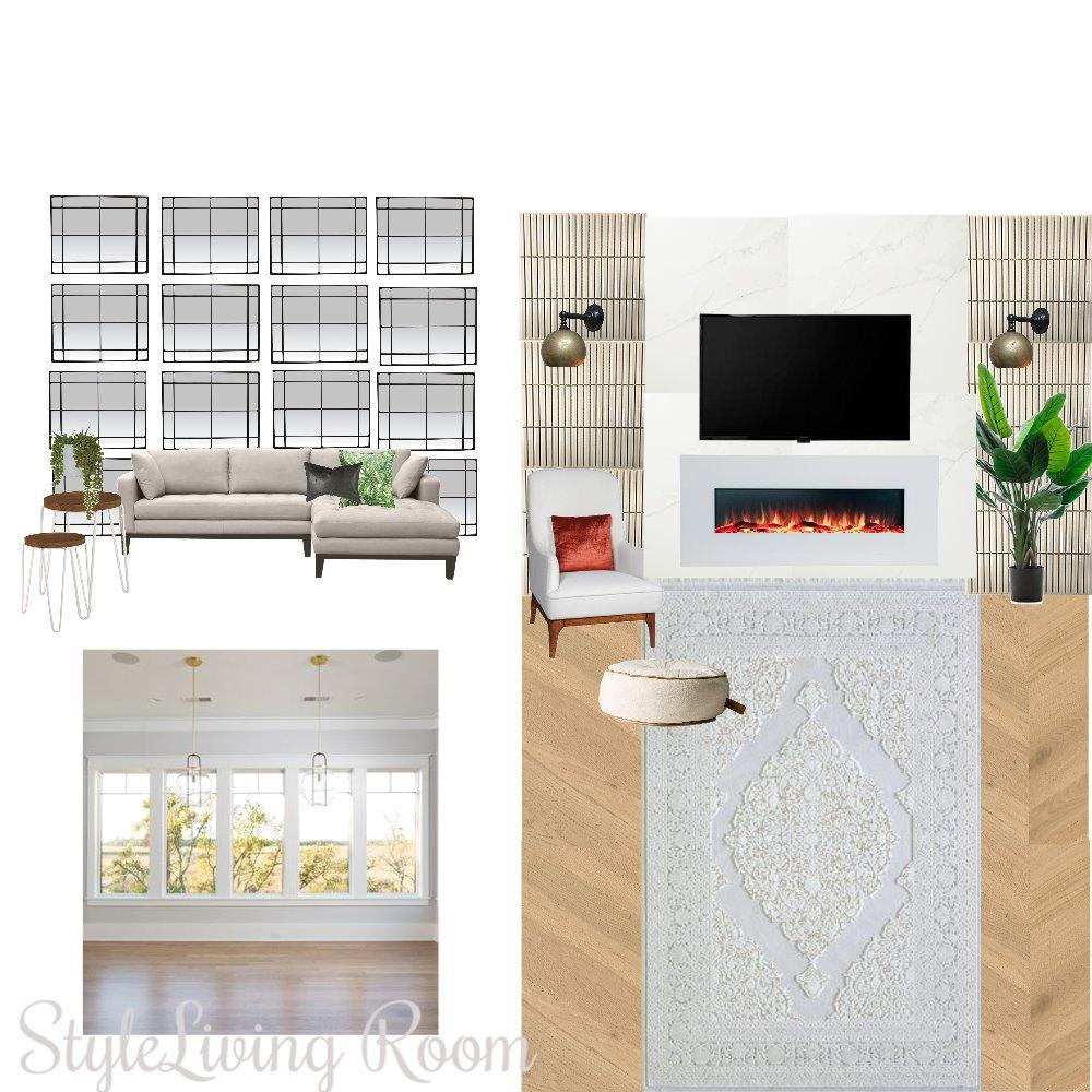 غرفة معيشة Interior Design Mood Board by Emano0s on Style Sourcebook