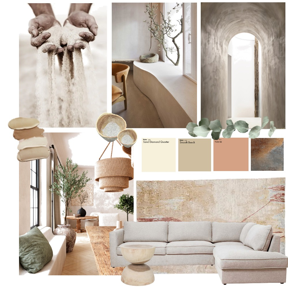 Wabi Sabi 2.0 Mood Board by Gaia Interior Design on Style Sourcebook