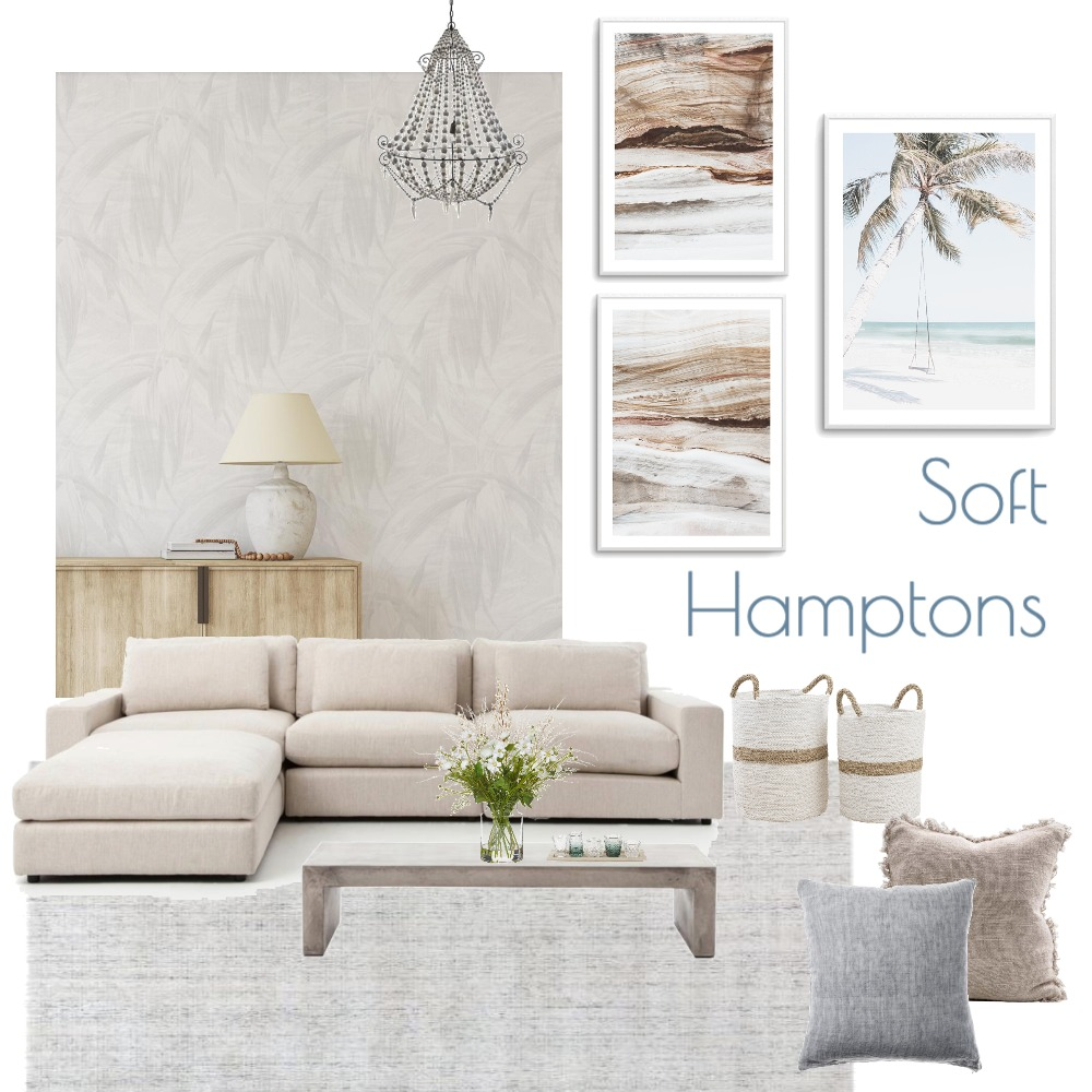 Soft Hamptons Luxe Interior Design Mood Board by Olive et Oriel on Style Sourcebook