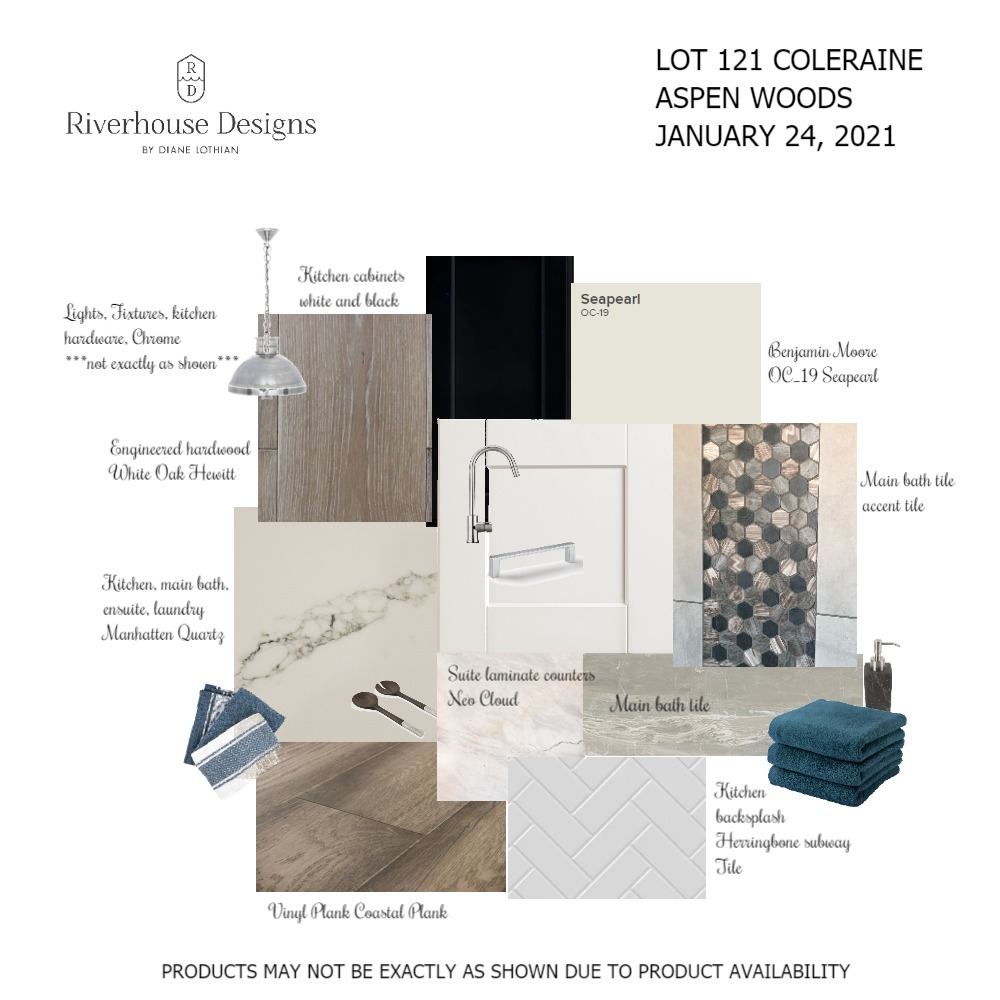LOT 121 COLERAINE change Interior Design Mood Board by Riverhouse Designs on Style Sourcebook