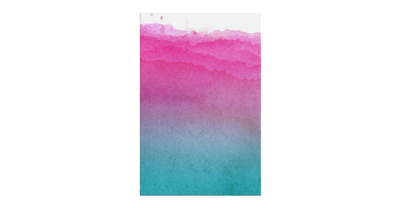 The Cyan Print Canvas Small Magenta