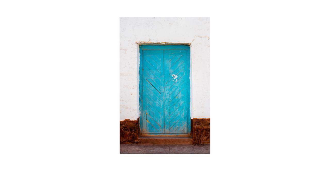 The Doorway Print Canvas Medium