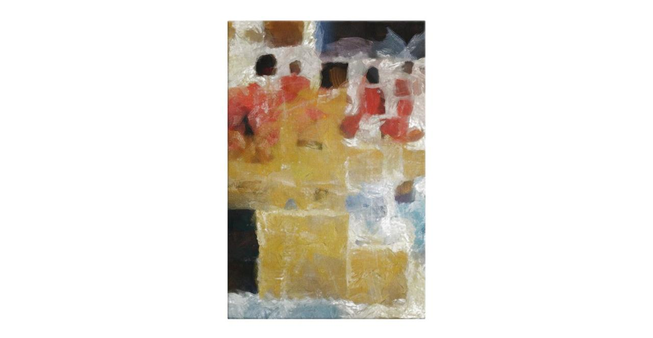 The Mosaic Print Canvas Small Two