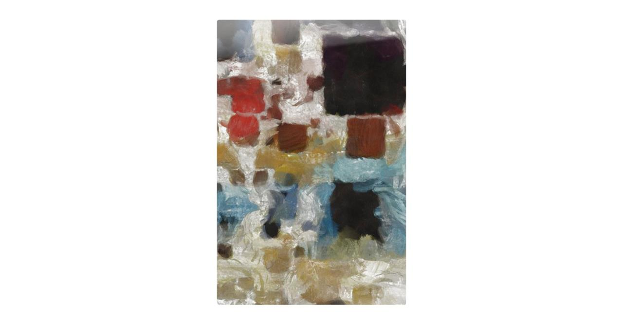 The Mosaic Print Metal Print Medium Three