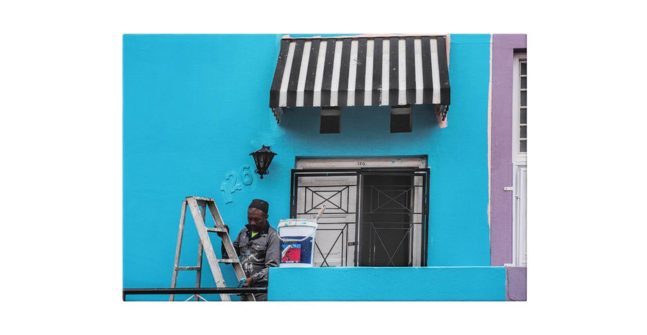 The Neighbourhood Print Canvas Small