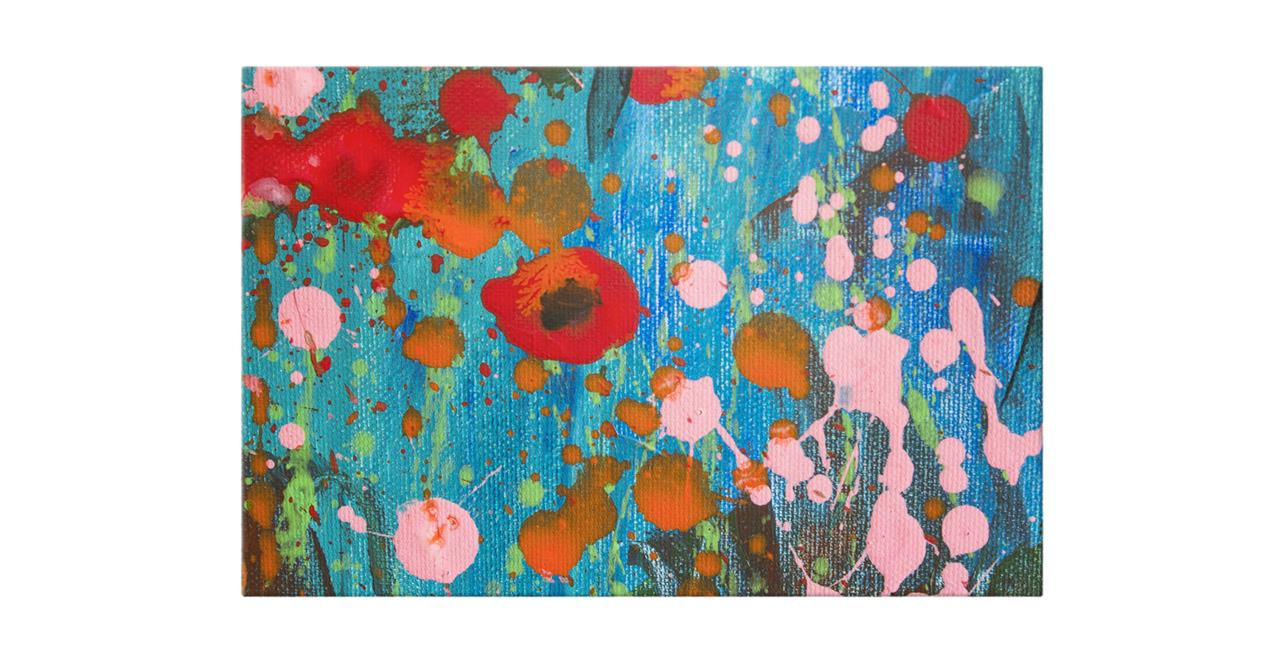 The Papaver Print Canvas Small