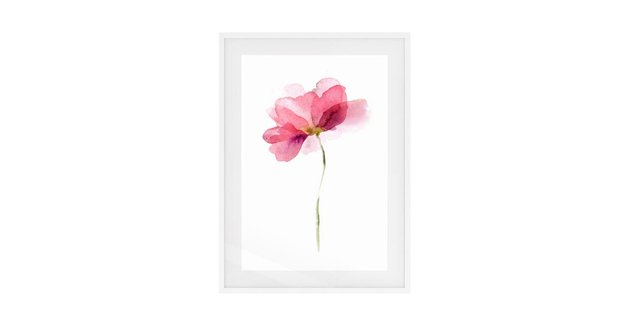 The Papier Print White Wood Frame Small