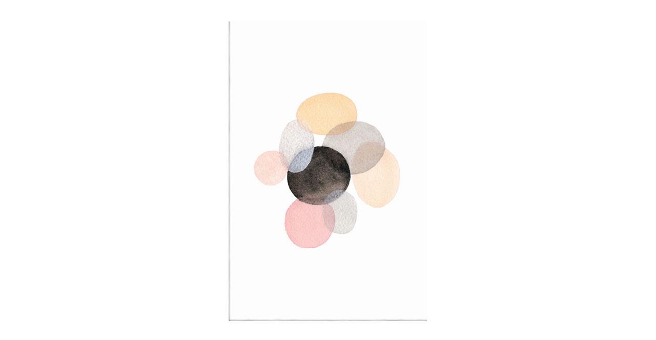 The Pebbles Print Canvas Medium