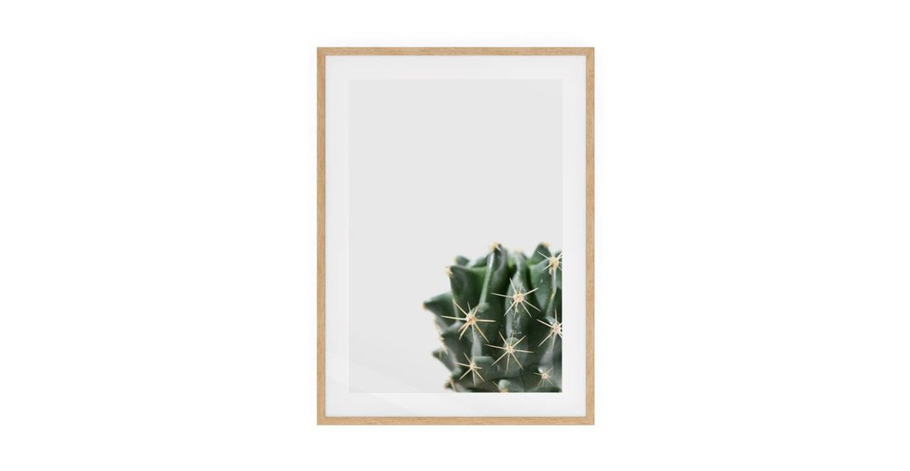 The Prickle Print Natural Wood Frame Medium Right