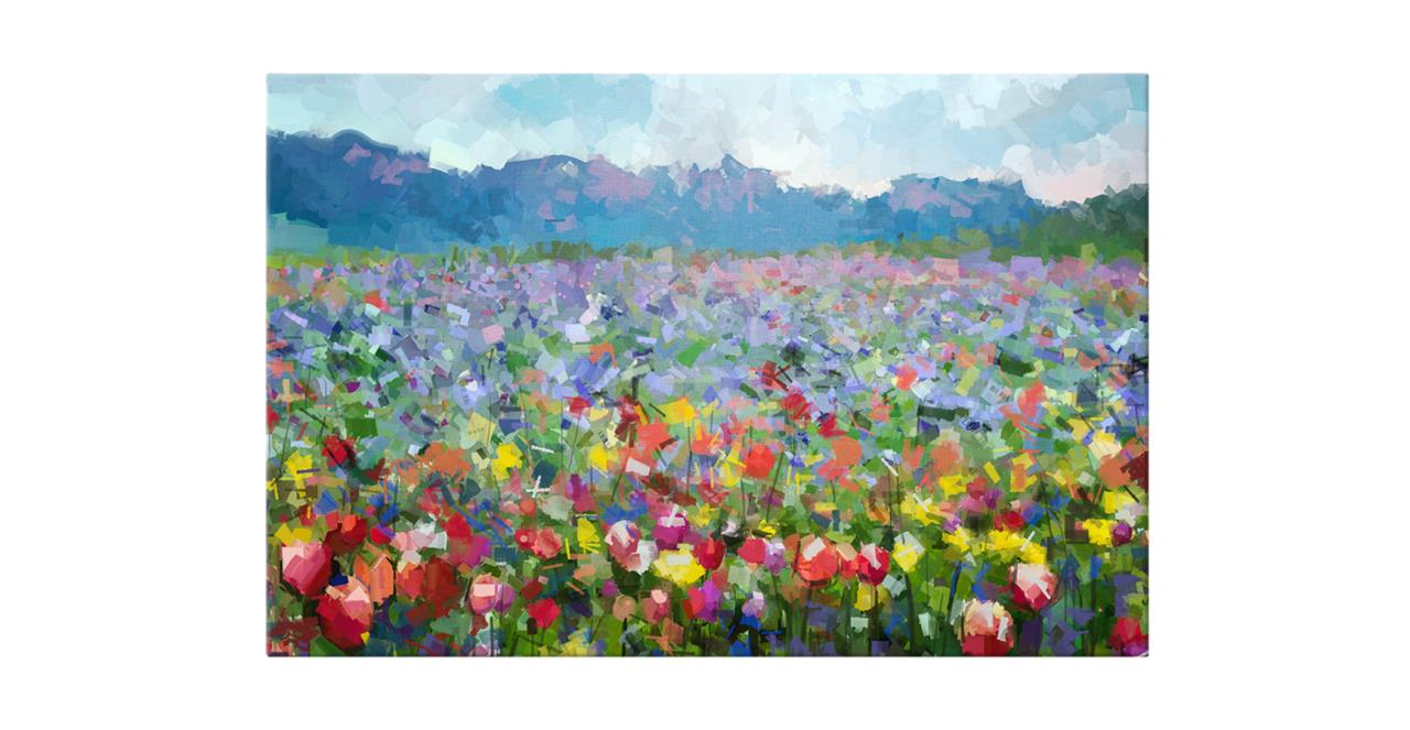 The Field Print Canvas Small