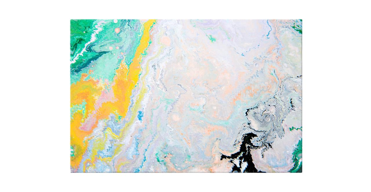 The Fragments Print Canvas Small