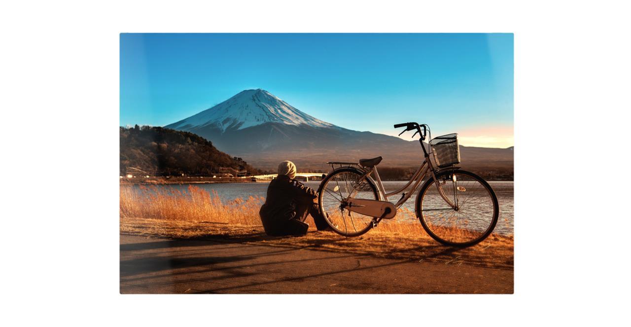 The Fuji Print Metal Print Medium