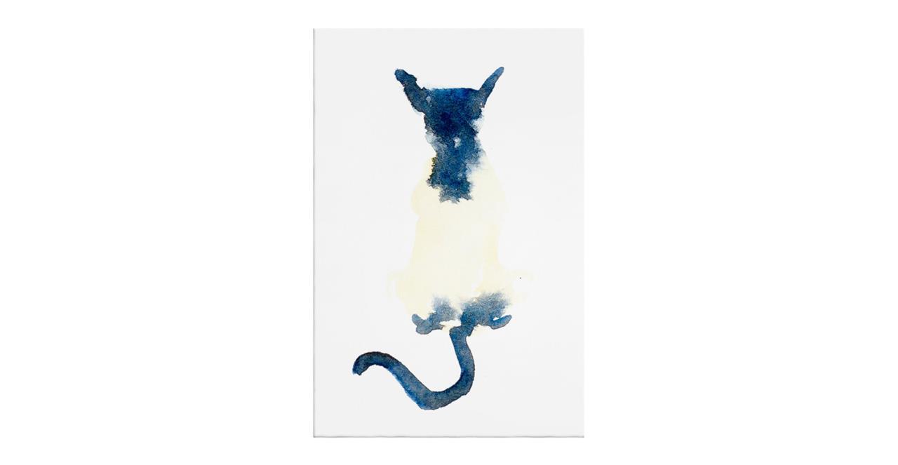 The Galaxy Cat Print Canvas Medium