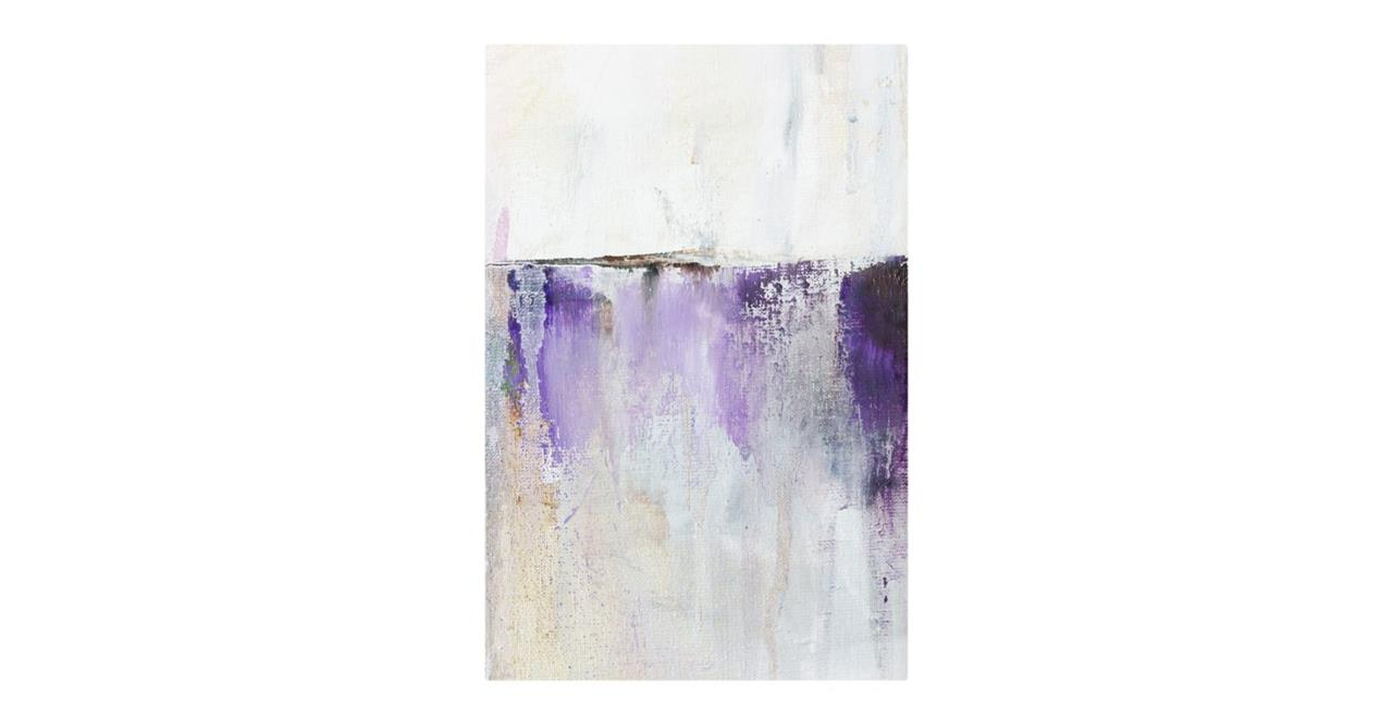 The Purple Rain Print Metal Print Medium Medium