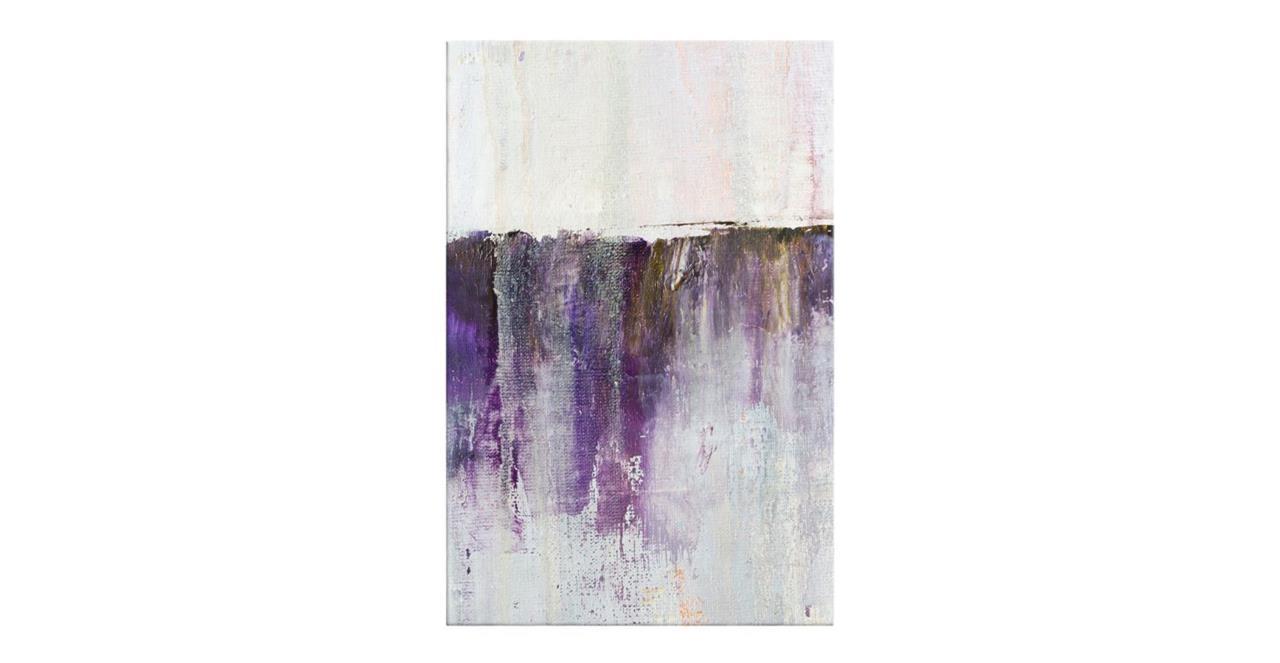 The Purple Rain Print Canvas Medium Heavy