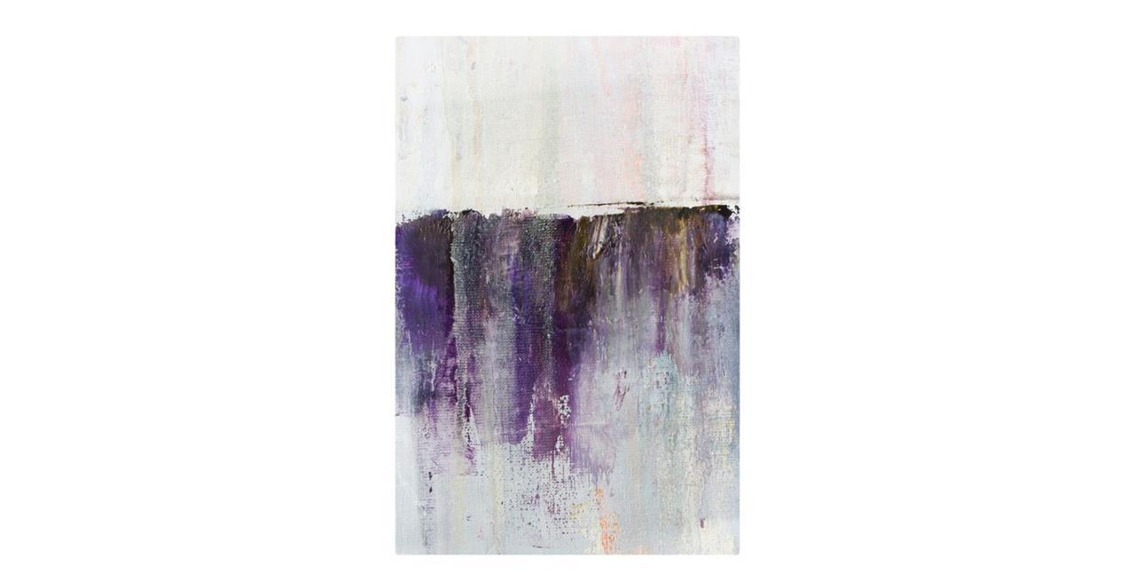 The Purple Rain Print Metal Print Medium Heavy