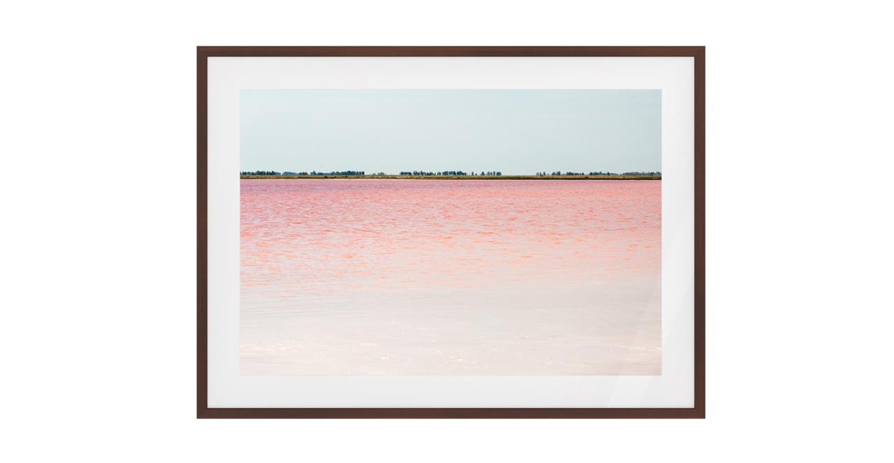 The Salt Print Dark Brown Wood Frame Medium