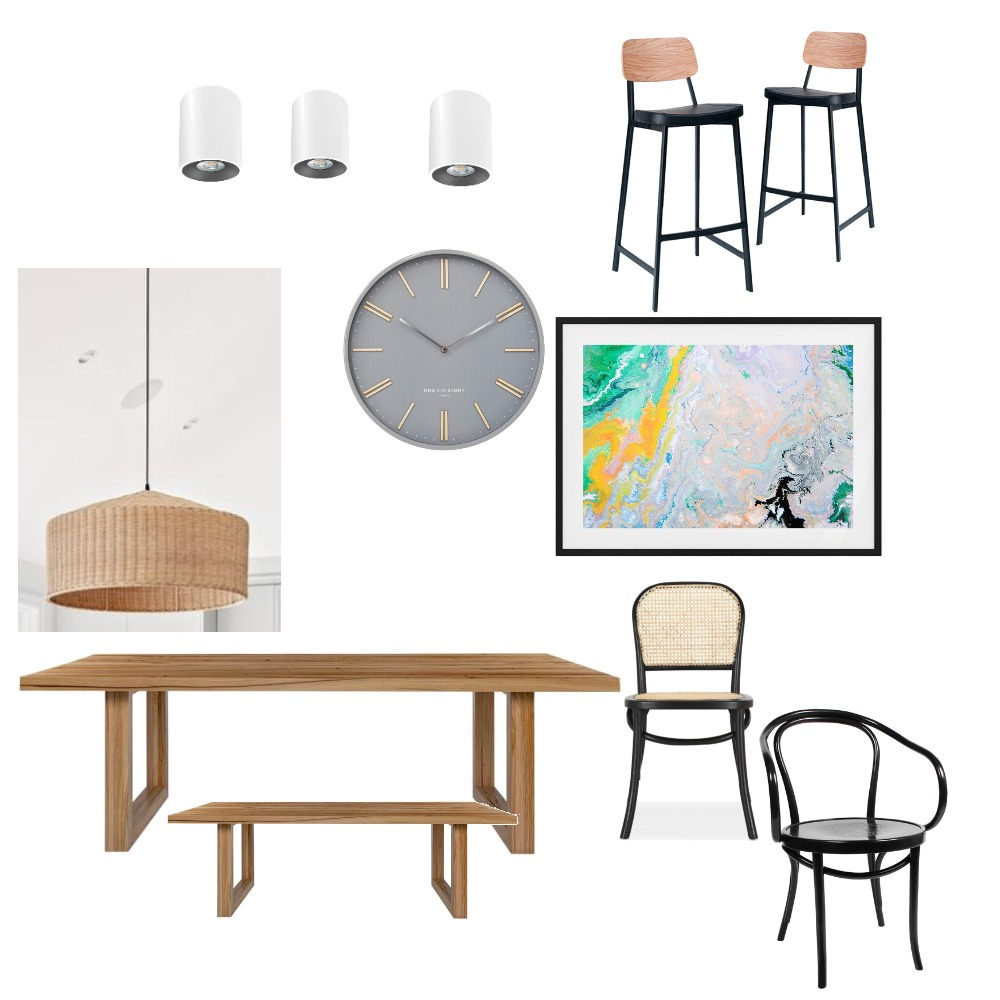 dining kitchen Interior Design Mood Board by claireablett on Style Sourcebook