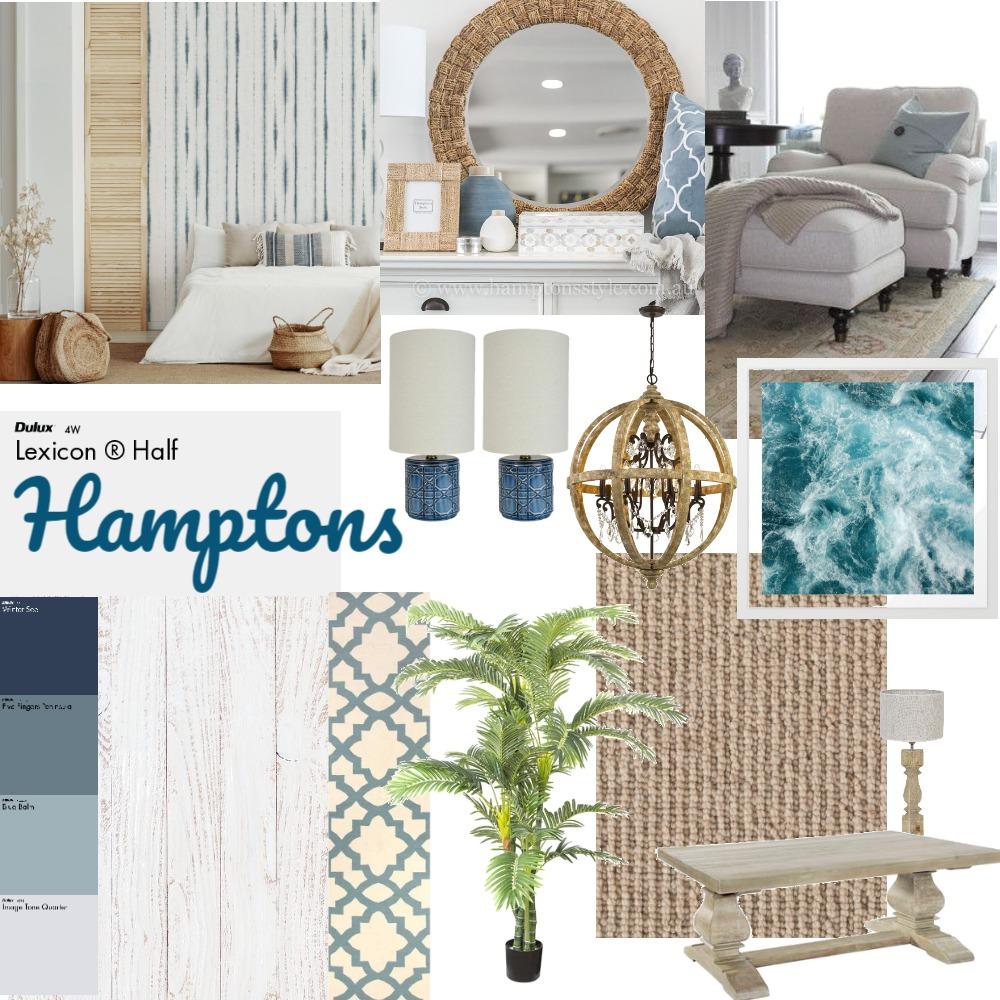 Hamptons moodboard Interior Design Mood Board by Rosie Patrick-Clark on Style Sourcebook