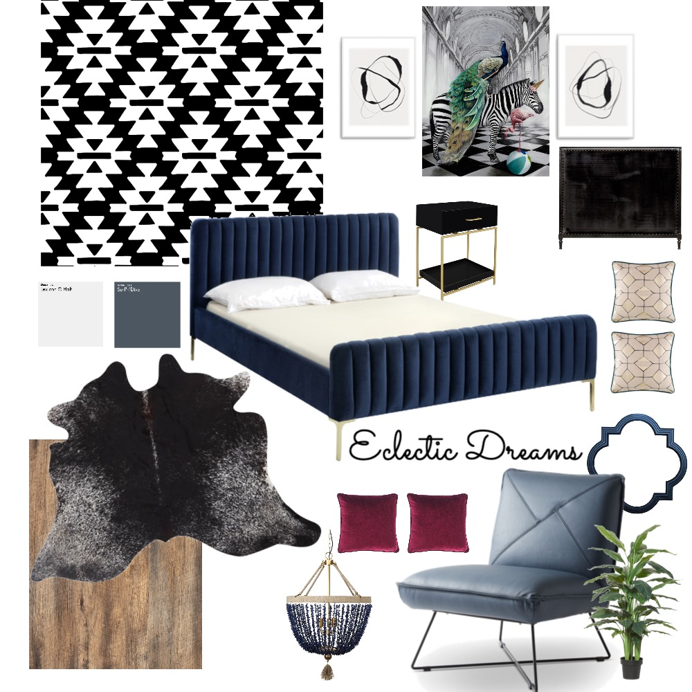 Eclectic Dreams Interior Design Mood Board by Perfectus Interiors on Style Sourcebook