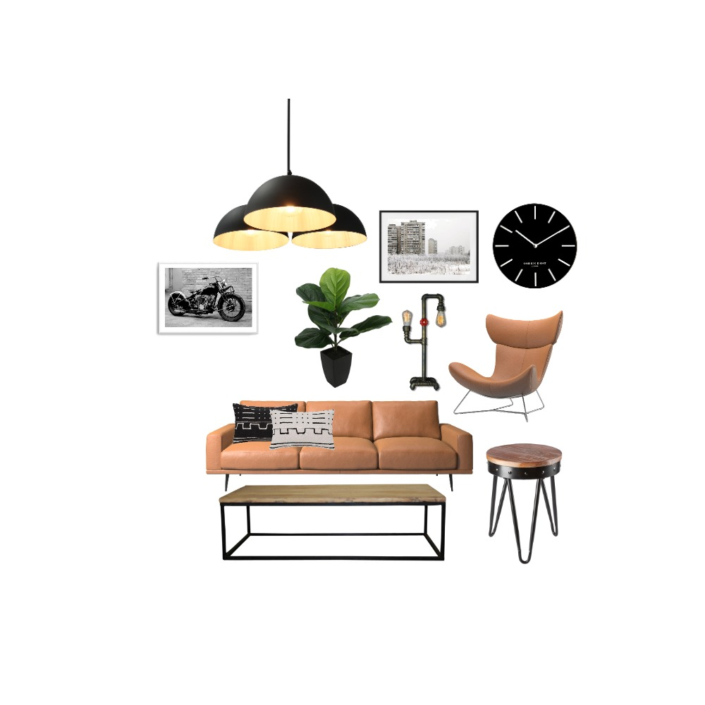 industrial empty nesters Interior Design Mood Board by Emily on Style Sourcebook