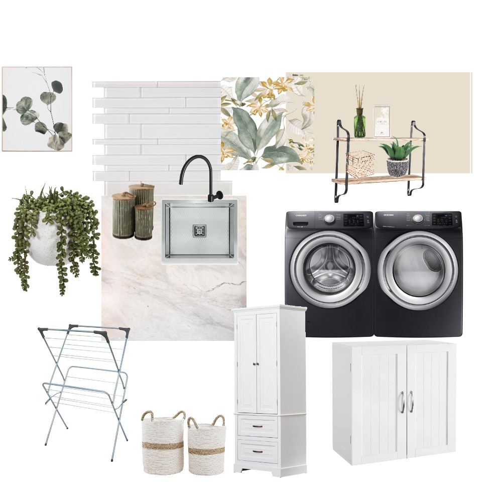 Laundry Mood Board by Amethyst92 on Style Sourcebook