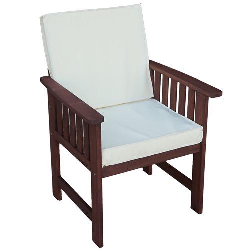 Matahari Shorea Wood Outdoor Armchair