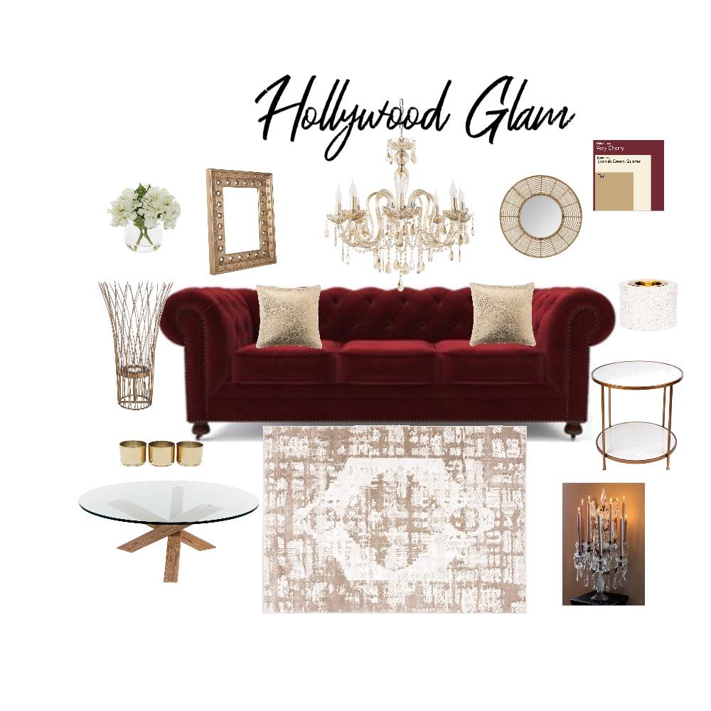 HOLLYWOOD GLAM 2 Interior Design Mood Board by nanki arora on Style Sourcebook
