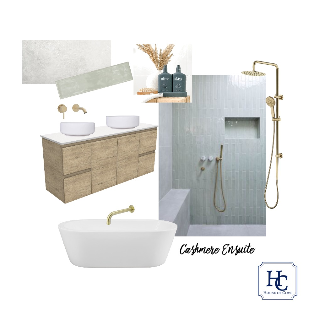 Cashmere Ensuite Mood Board by House of Cove on Style Sourcebook