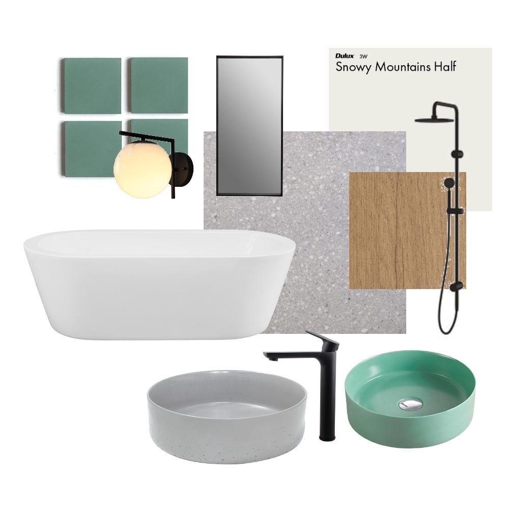 Silverdale bathroom Interior Design Mood Board by GraceLangleyInteriors on Style Sourcebook