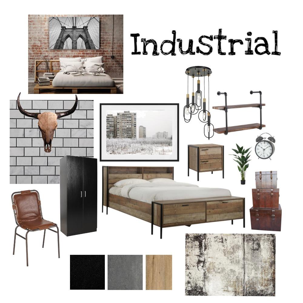Industrial Interior Design Mood Board by LaurenSimpson on Style Sourcebook