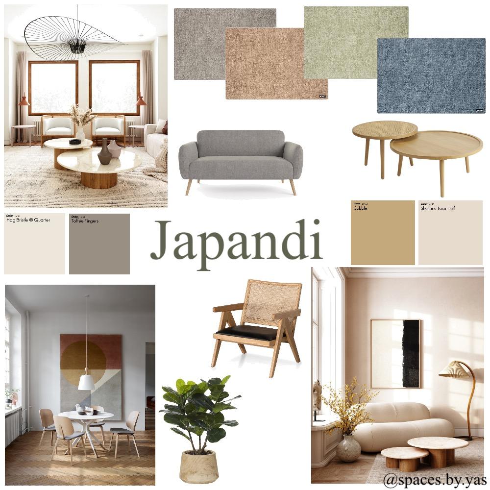 Japandi Interior Design Mood Board by yazzfahmy on Style Sourcebook