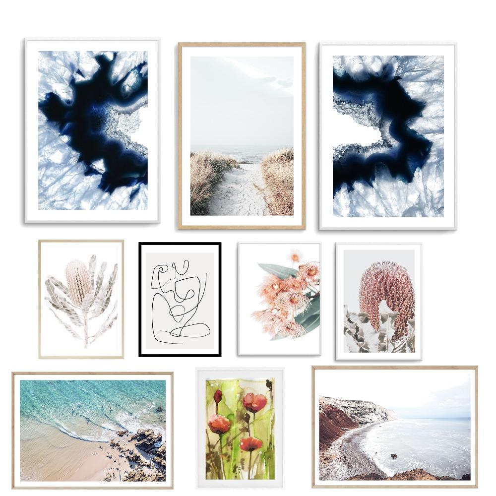 Hallyway Gallery Ideas Interior Design Mood Board by KatKards on Style Sourcebook