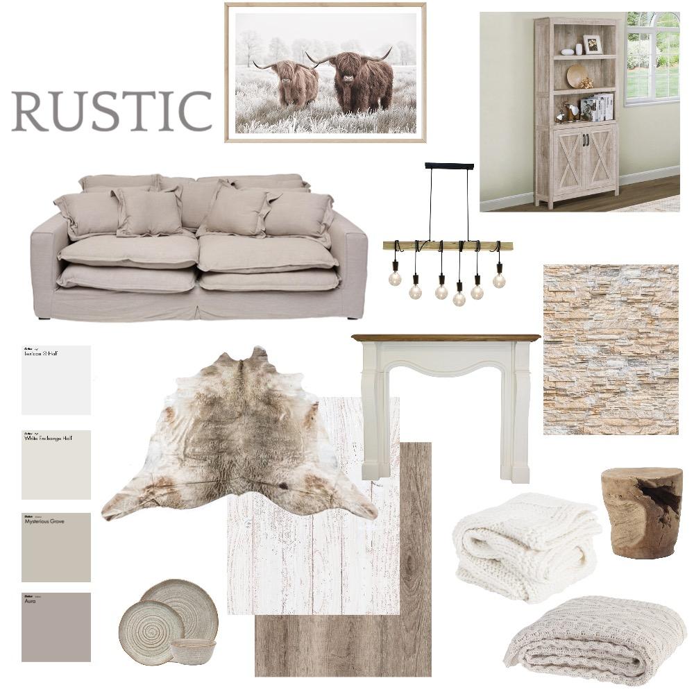 Rustic Interior Design Mood Board by bron86 on Style Sourcebook