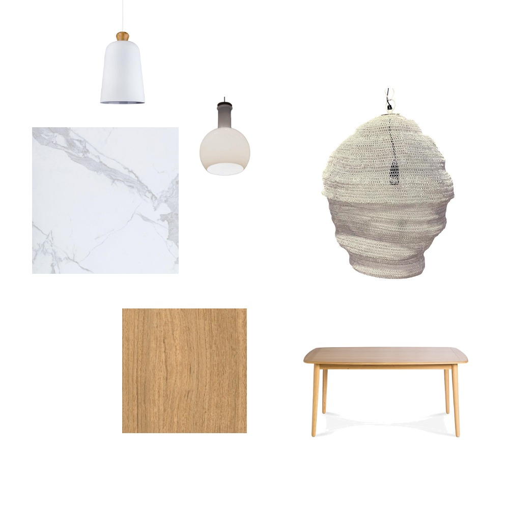 Kitchen Dining lighting Interior Design Mood Board by riverslea on Style Sourcebook