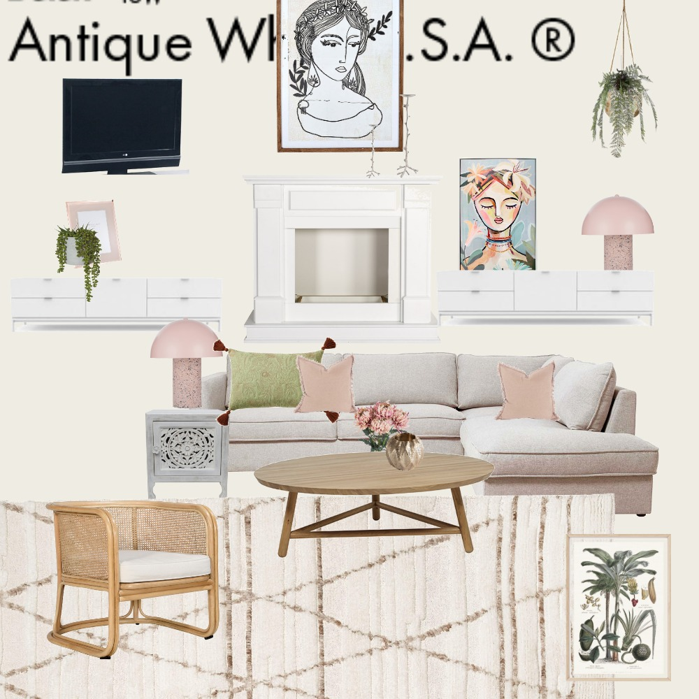 Living Room Rough Draft Interior Design Mood Board by JulieJules on Style Sourcebook