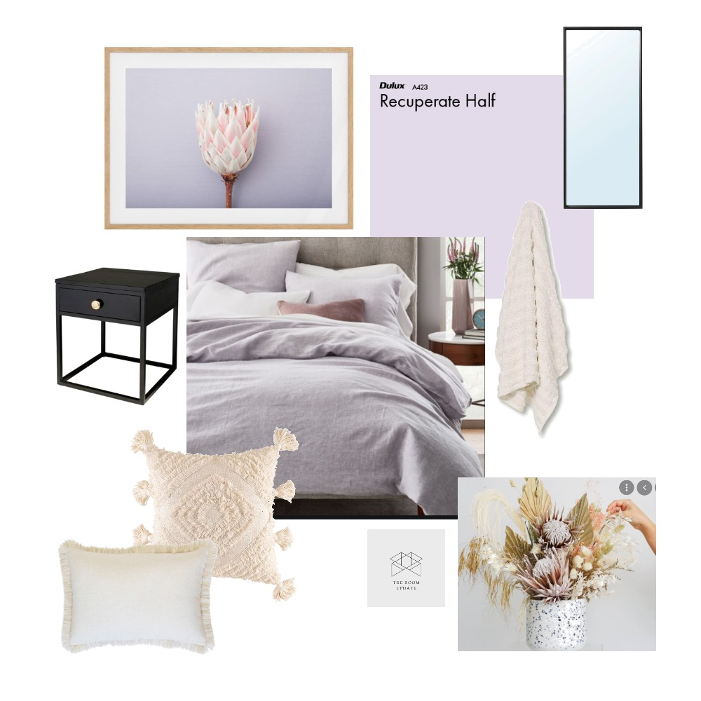 Ashfield Guest Room Interior Design Mood Board by The Room Update on Style Sourcebook