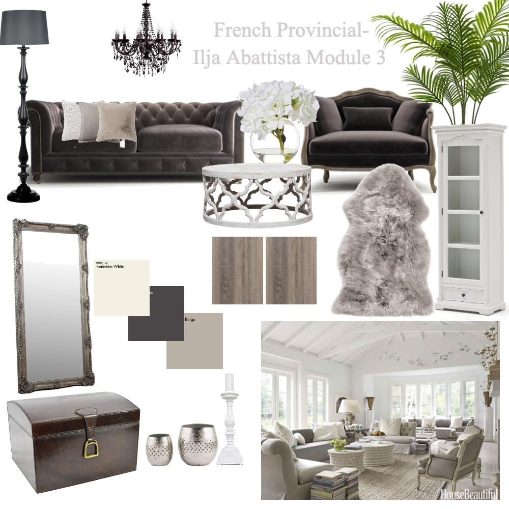 French Provincial Interior Design Mood Board by Ilja Abbattista on Style Sourcebook