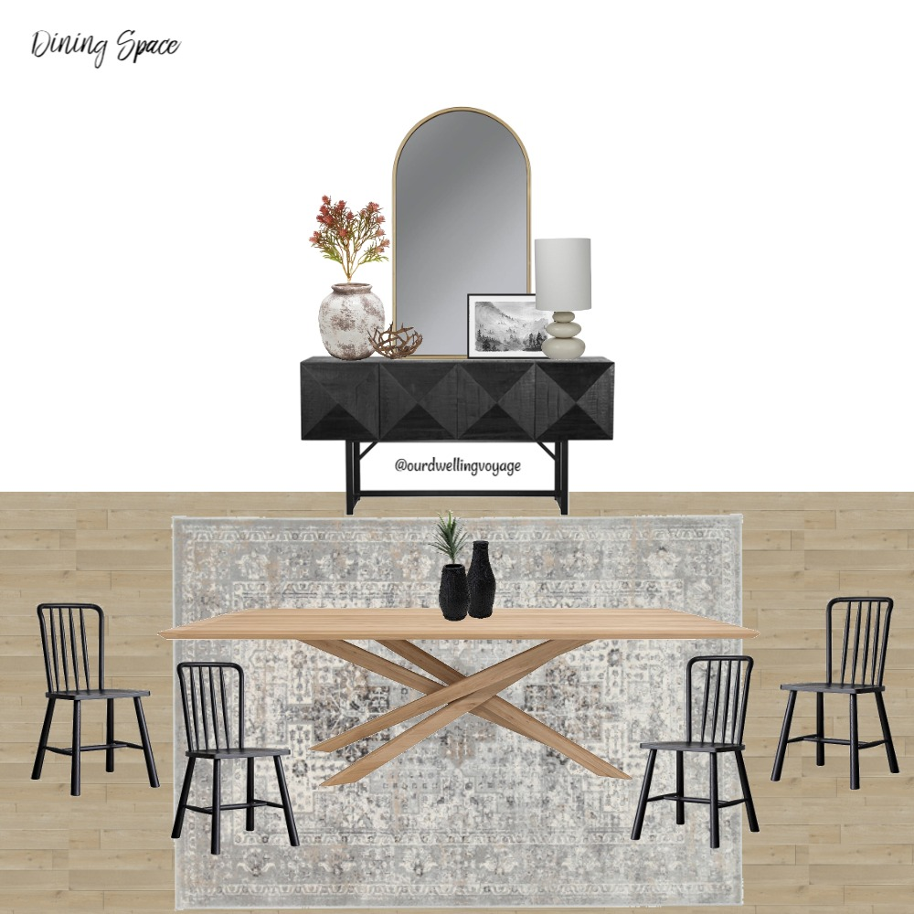 Dining Space Interior Design Mood Board by Our Dwelling Voyage on Style Sourcebook