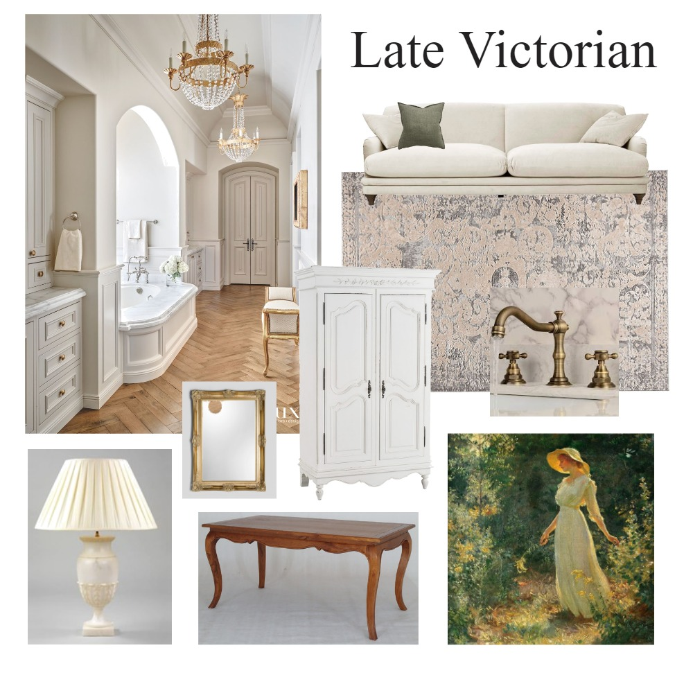Victorian mood board Interior Design Mood Board by JessicaHennessey on Style Sourcebook