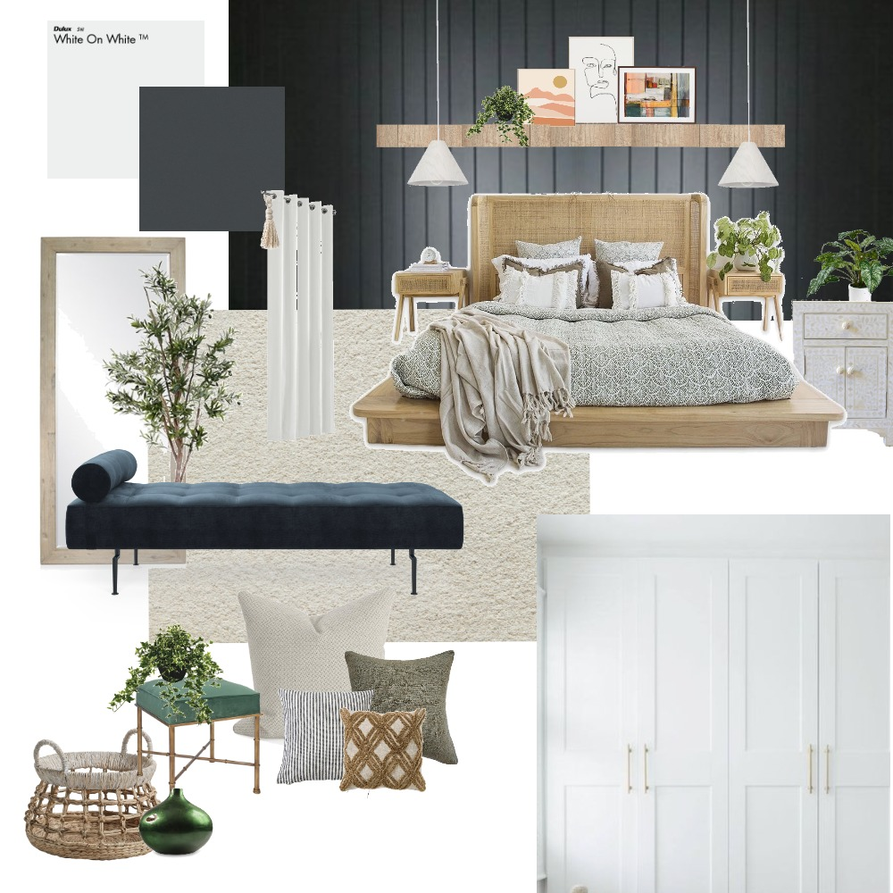 Main Bedroom - 11 Ev. Interior Design Mood Board by 4idyn on Style Sourcebook
