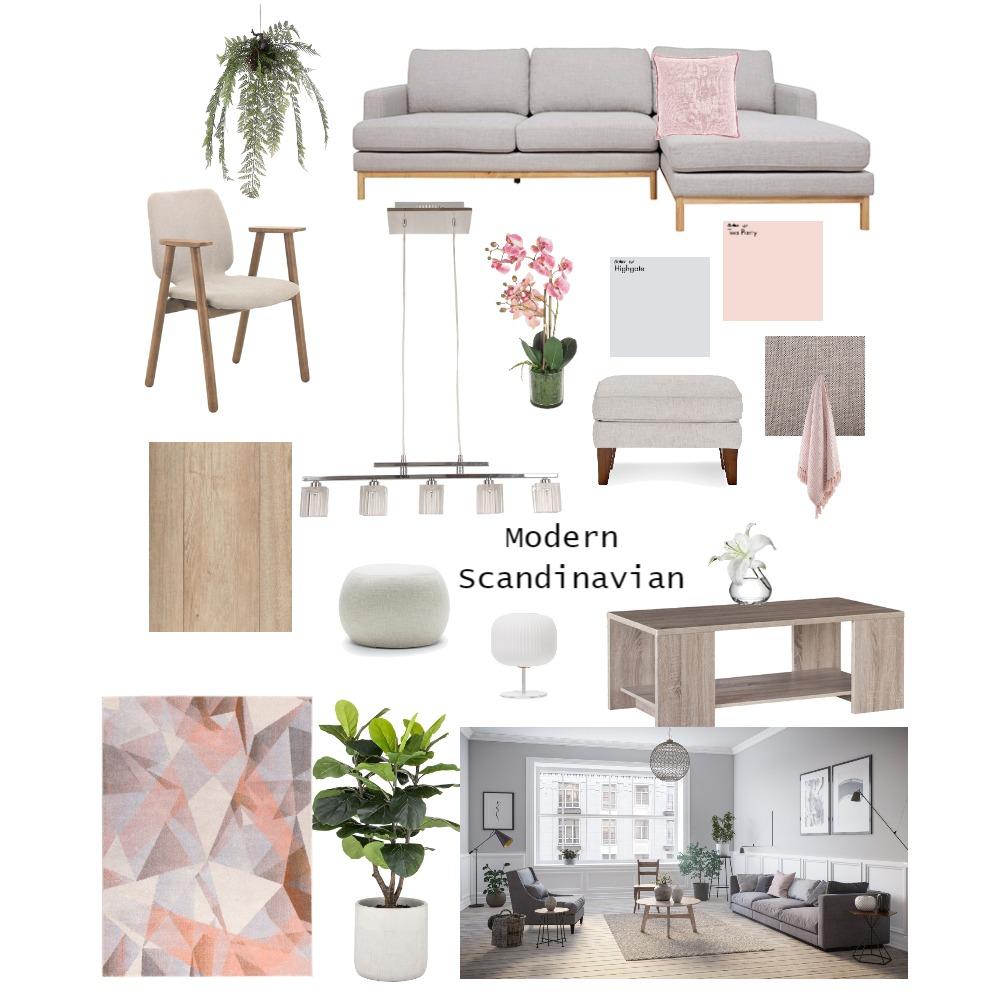 Modern Scandinavian Interior Design Mood Board by Sharon Cox on Style Sourcebook