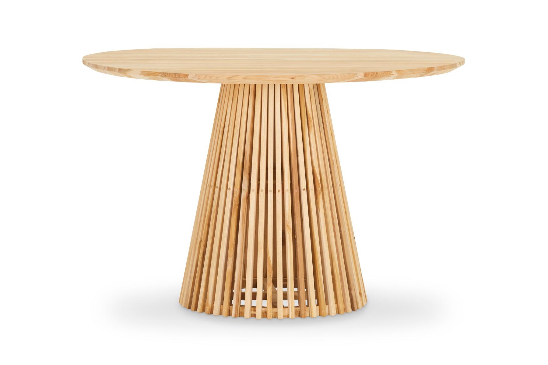 Luna Modern Dining Table Oak by Lounge Lovers by Lounge Lovers, a Dining Tables for sale on Style Sourcebook